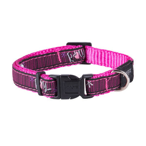 Rogz Fancy Dress Small Jellybean Dog Collar Pink Love