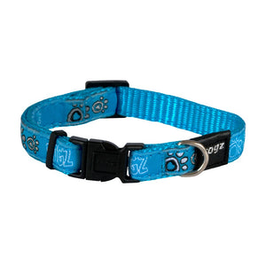 Rogz Fancy Dress Small Jellybean Dog Collar Turquiose