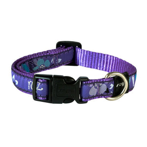 Rogz Fancy Dress Scooter Dog Collar Purple Forest