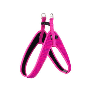 Rogz Utility Reflective Fast Fit Dog Harness Pink