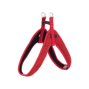 Rogz Utility Reflective Fast Fit Dog Harness Red