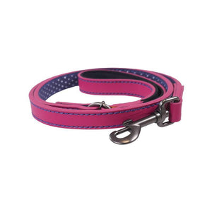 Rosewood and Joules Pink Leather Lead