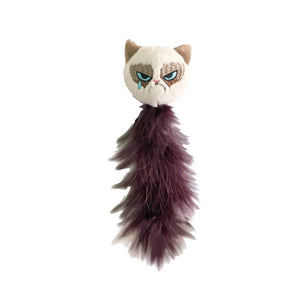 Rosewood Grumpy Feather Tail Cat Toy