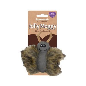 Rosewood Jolly Moggy Silvervine Plush Butterfly