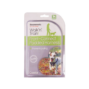 Rosewood Walk 'n' Train Front Connect Padded Harness Medium