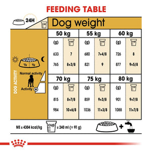 Royal Canin Great Dane Adult Infographic 5