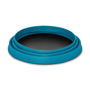 Ruffwear Bivy Collapsible Travel Dog Bowl CollapsedHalf Collapsed