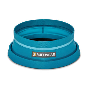 Ruffwear Bivy Collapsible Travel Dog Bowl Half Collapsed