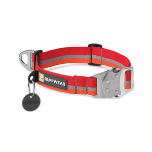 Ruffwear Top Rope Reflective Ballasted Collar Red