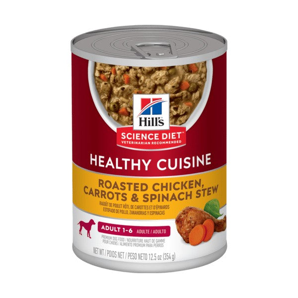 Hill's Science Plan Canine Adult Chicken & Carrot Stew Tin