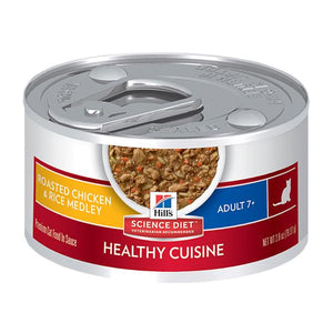 Science Plan Feline Mature Adult Chicken & Rice Stew Tin