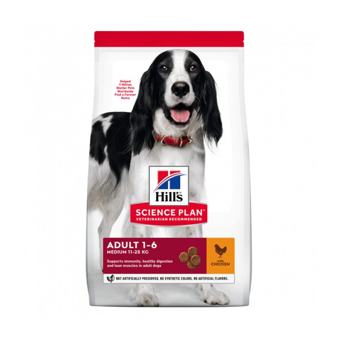 Hill's Science Plan Canine Adult Medium Chicken Dog Food