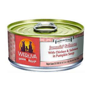 Weruva Canned Dog Food - Jammin' Salmon