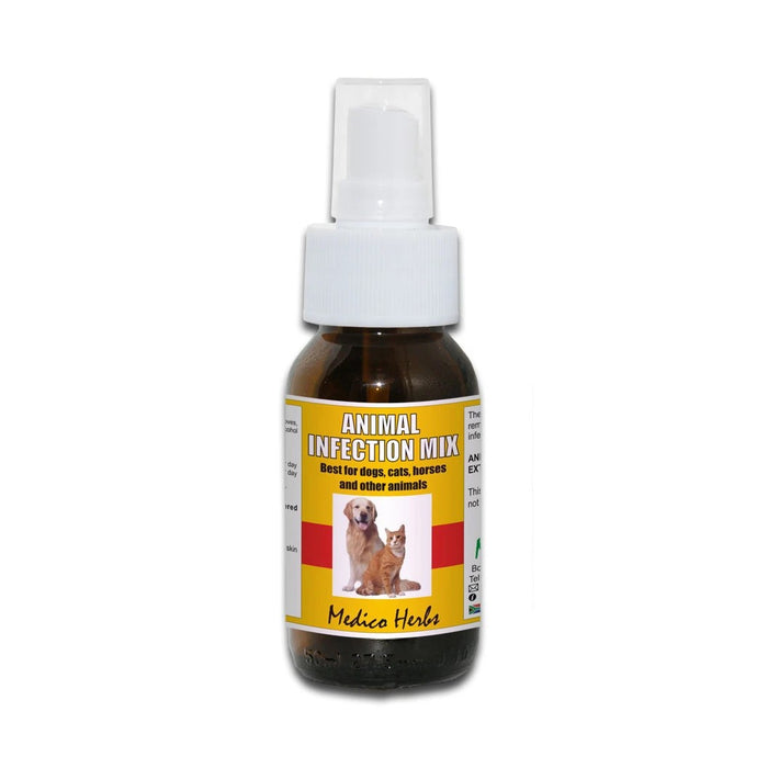 Medico Herbs Animal Infection Mix Spray 50ml