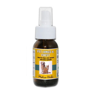 Medico Herbs Pet Lungs and Chest Spray 50ml