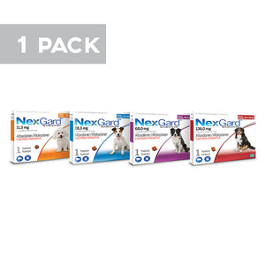 Nexgard for Dogs- 1 pack
