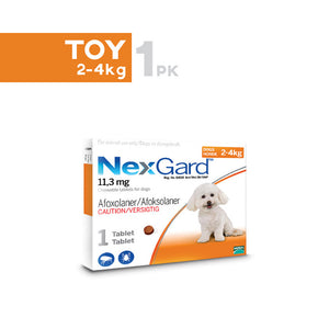 Nexgard Toy(2- 4kg)-Orange