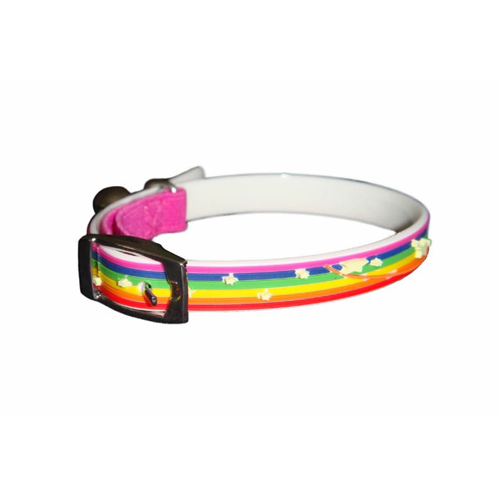 Gummi Dog Collar - Rainbow