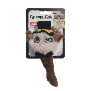 Rosewood Grumpy Cat New Year Ball Toy