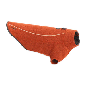 Ruffwear Fernie Knit Fleece Dog Jacket - Orange
