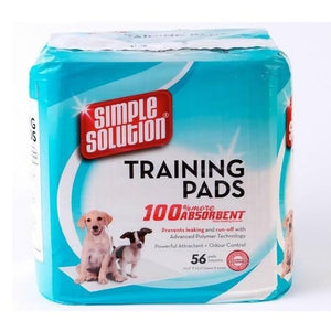 Simple Solution Training Pads - 56 Pack