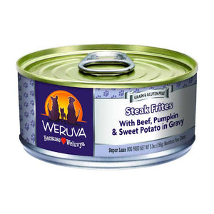 Weruva Canned Dog Food - Steak Frites