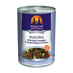 Weruva Tinned Dog Food - Steak Frites