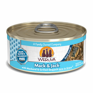 Weruva Canned Cat Food - Mack & Jack