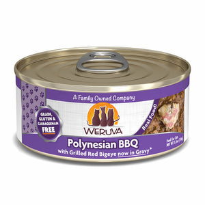 Weruva Canned Cat Food - Polynesian BBQ