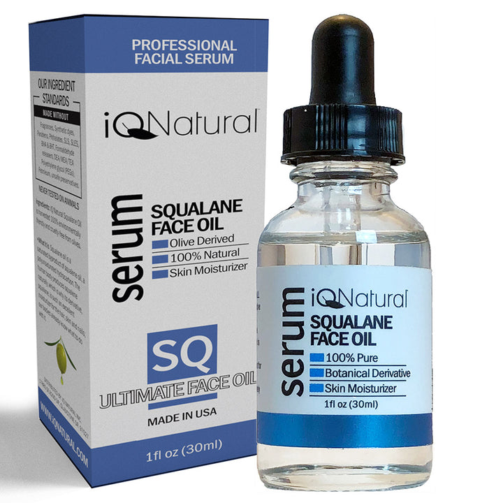 Squalane Oil - Olive Oil Hydration - iQ Natural