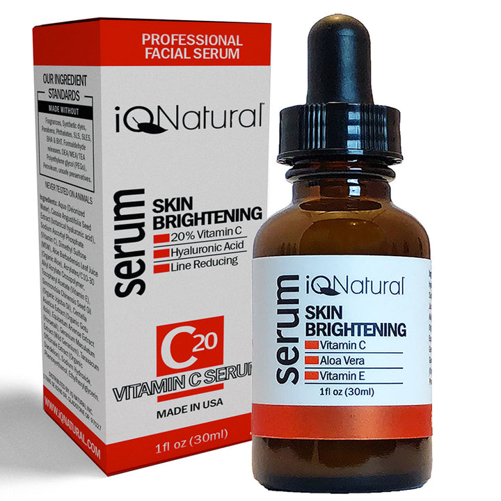 Vitamin C Serum - 20% Potency - iQ Natural