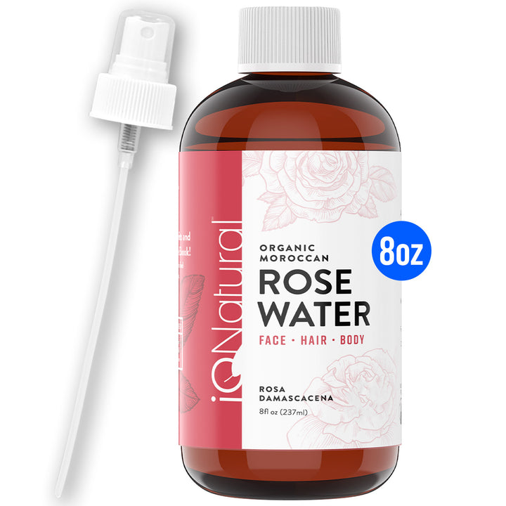 Organic Moroccan Rose Water - iQ Natural
