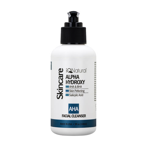 AHA Alpha-Hydroxy Cleanser - iQ Natural