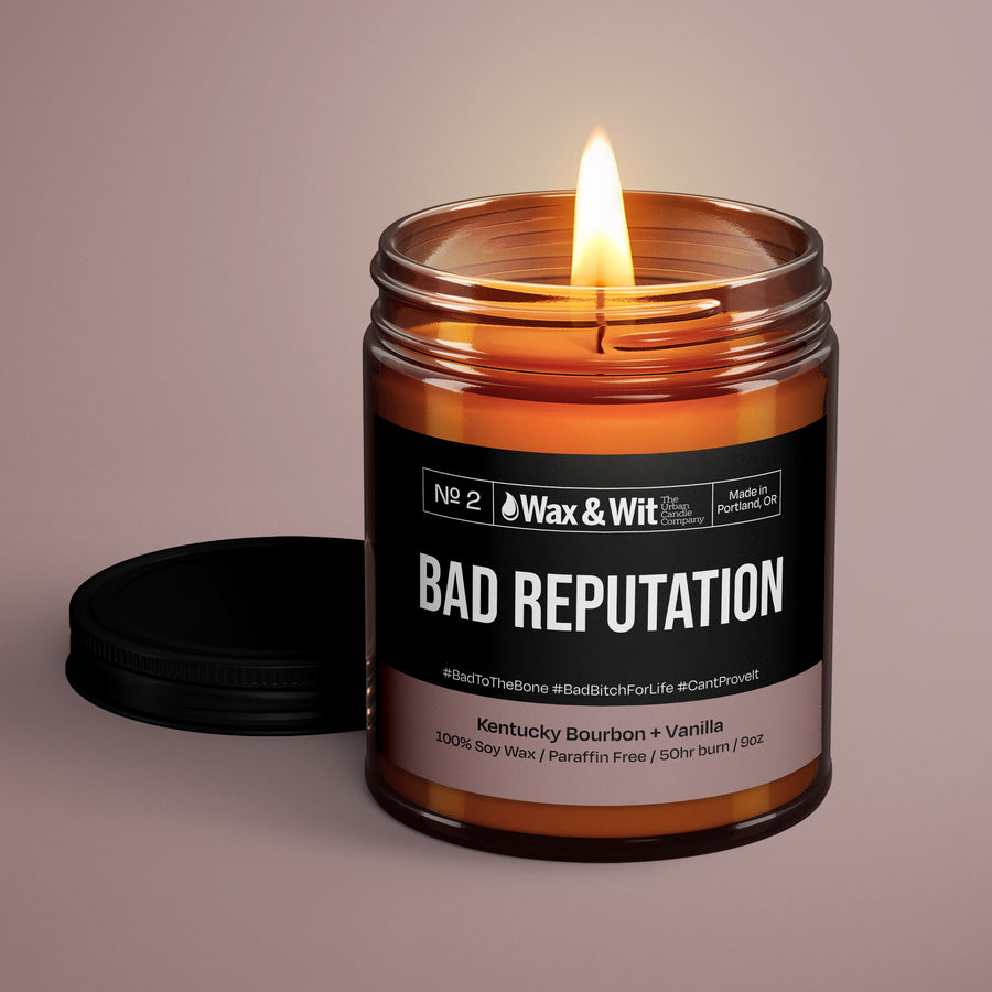 Soy Candle - Bad Reputation - iQ Natural