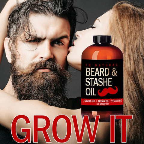 Image of Beard Oil - Leave in Beard Conditioner - iQ Natural