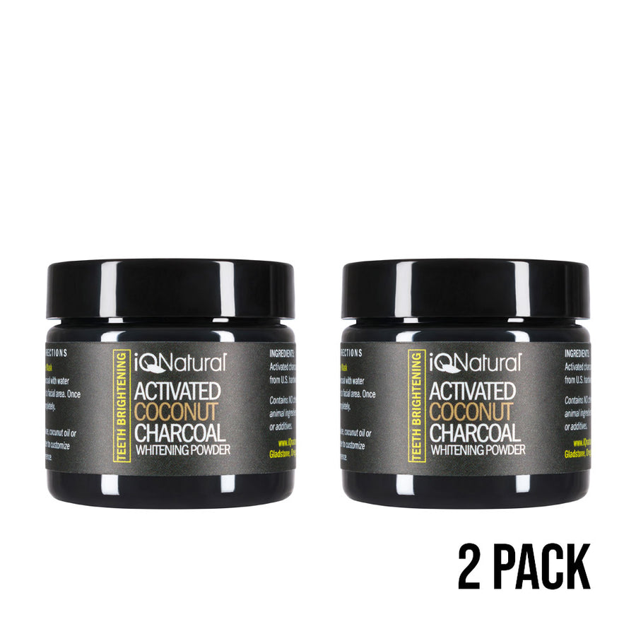 SPECIAL OFFER Activated Coconut Charcoal Powder - Teeth Whitening - iQ Natural