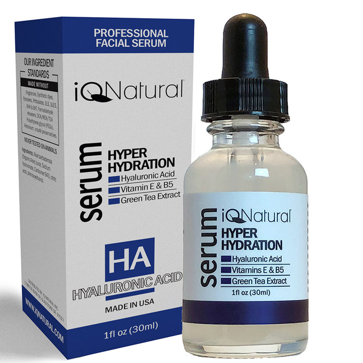 Hyaluronic Acid Serum 1oz - iQ Natural