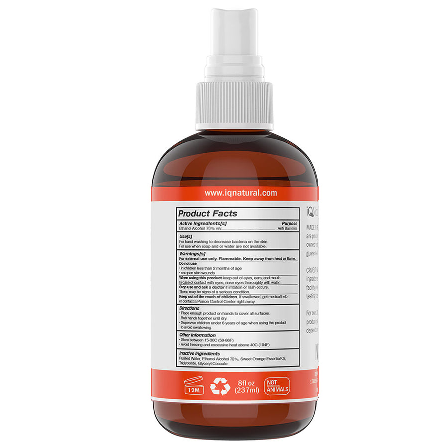 8oz Cleansing Spray - iQ Natural