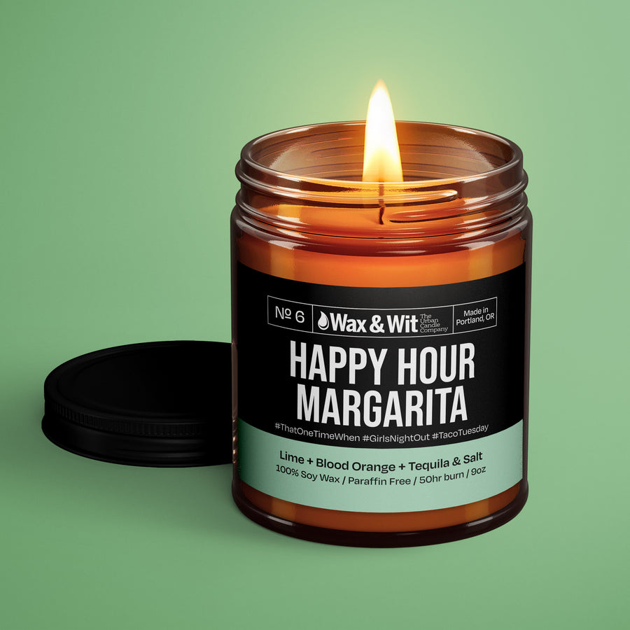 Soy Candle - Happy Hour Margarita - iQ Natural