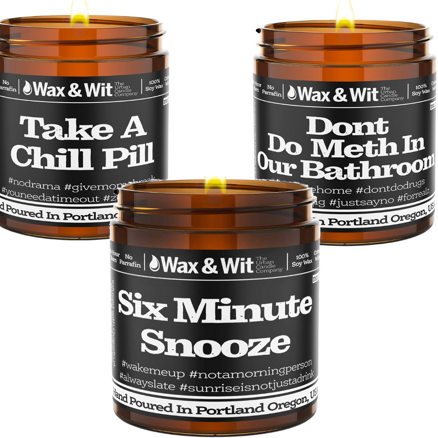 Pack Of Three W&W Candles - iQ Natural