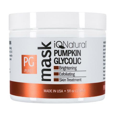 Pumpkin Mask - Glycolic Exfoliation - iQ Natural