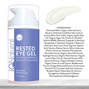 Rested Eye Gel - iQ Natural