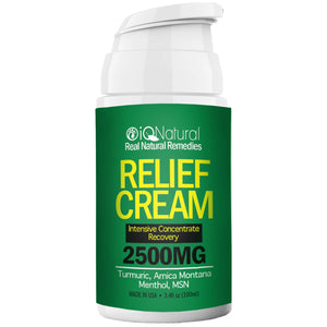 Relief Cream for Joint & Muscle Pain - iQ Natural