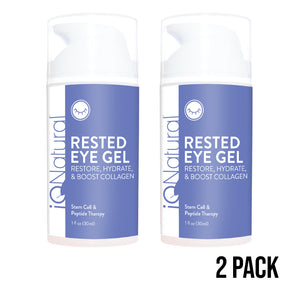 SPECIAL OFFER Rested Eye Gel 2PK - iQ Natural