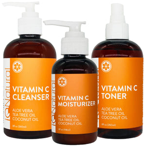 Vitamin C Daily Care Skincare Set - iQ Natural