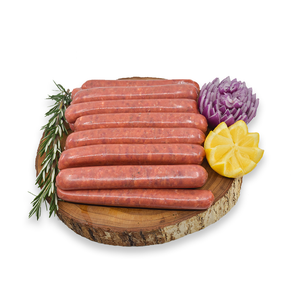 100% Grass Fed Thin Angus Beef Sausage | $14.99kg