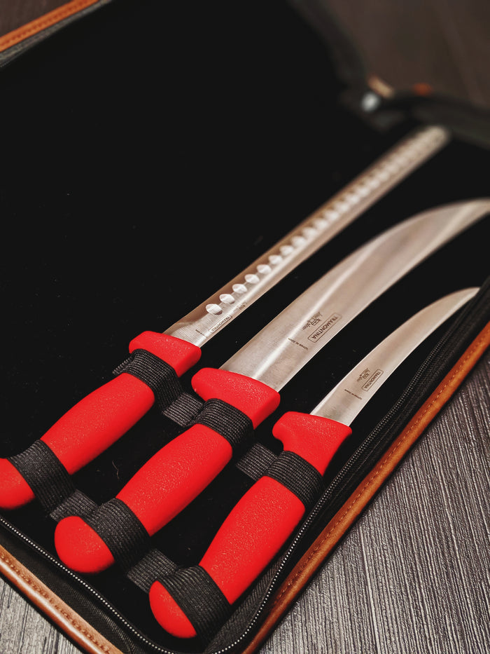 Tramontina Low & Slow Knife Set | Bass Strait & Cape Grim