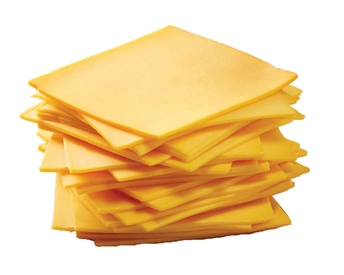 American Sliced Burger Cheese | 12 Slices
