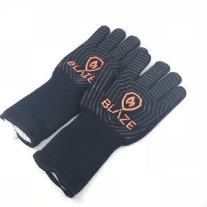 Lanes BBQ Blaze Heat Resistant Gloves - Super Butcher |