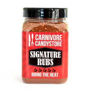 Carnivore Candystore Bring The Heat Rub 200g